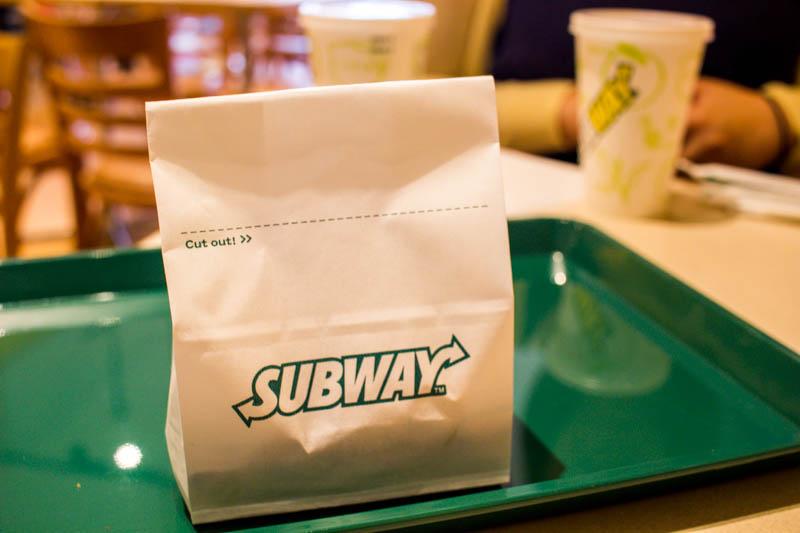 サブウェイのポテトに、ケチャップって貰える?