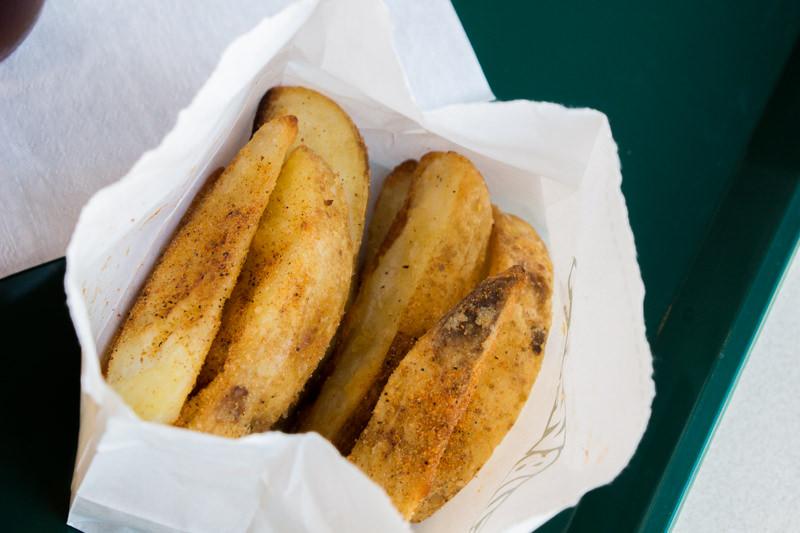 オーブンポテト(ピリ辛バーベキュー)を食べてみた感想